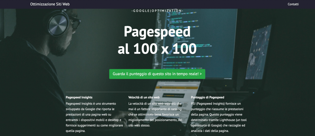 Pagespeed 100x100